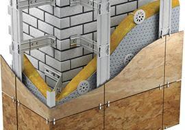Как построить тёплый дом аспект наружной отделки