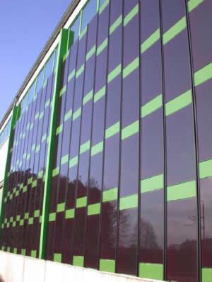 Скоро окна станут солнечными батареями